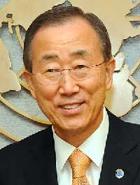 Ban Kai-moon, United Nations