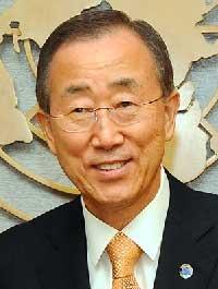 Ban Kai-moon, United Nations