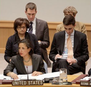 Amb. Susan Rice at UN