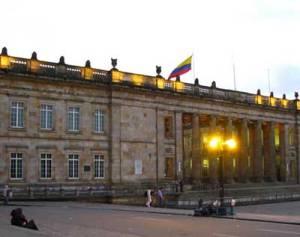 El Capitolio Nacional Bogota Colombia
