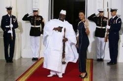 President Yahya Jammeh of Gambia