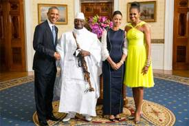 Obama Jammeh White House