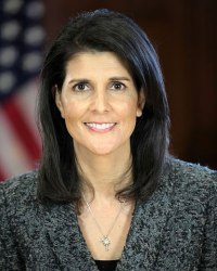Nikki Haley, United States Ambassador to the United Nations