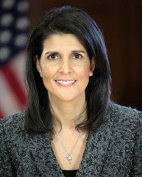 Nikki Haley, United States Ambassador to the United Nations