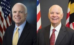 Sen. John McCain and Sen. Ben Cardin